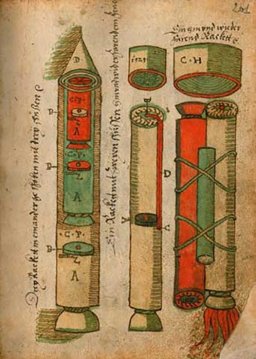 Конрад Хаас изобрёл невероятно мощное оружие, но всё же был гуманистом. Он не хотел никого убивать.