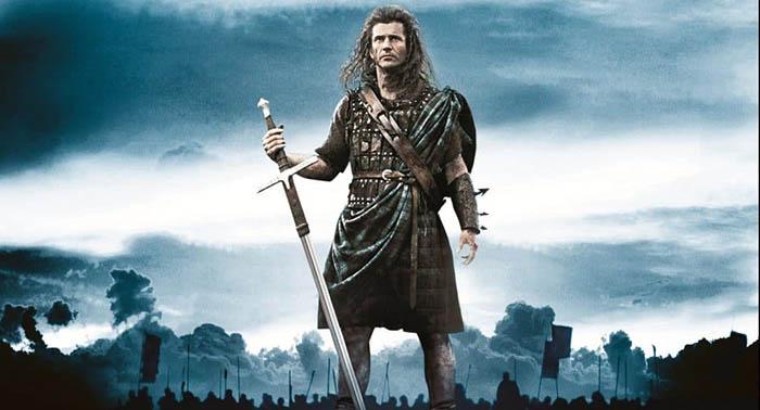 Килт Уильям не носил и двуручный меч тоже не использовал.