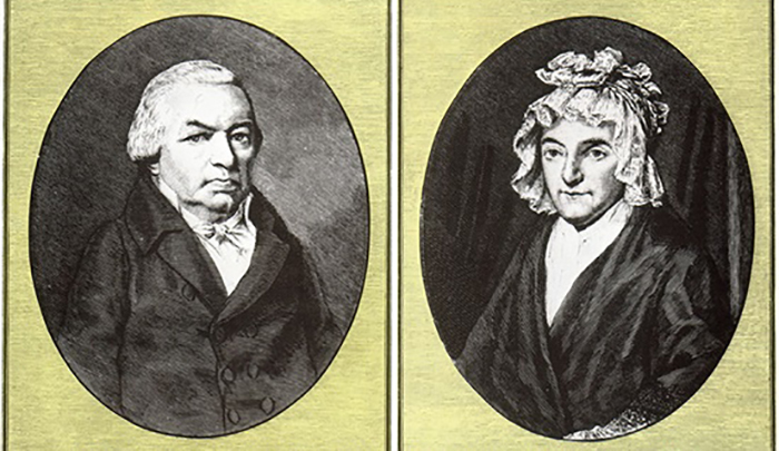 Иоганн и Мария-Магдалина, родители Людвига.