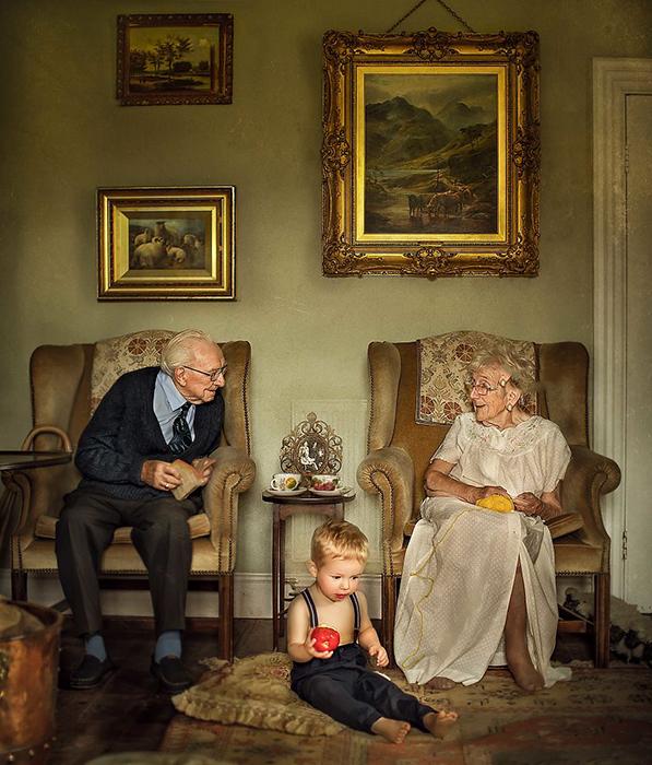 Паре пришлось пережить изоляцию вдали от детей и внуков.