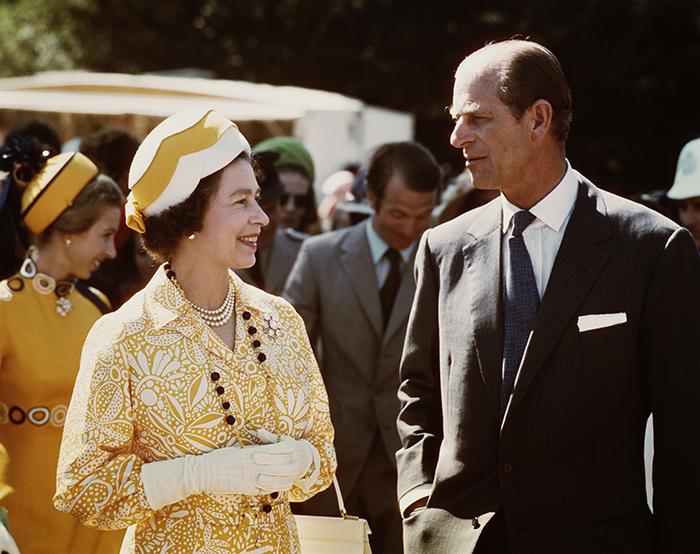 Прогулка стала первым подобным мероприятием в истории британской короны.