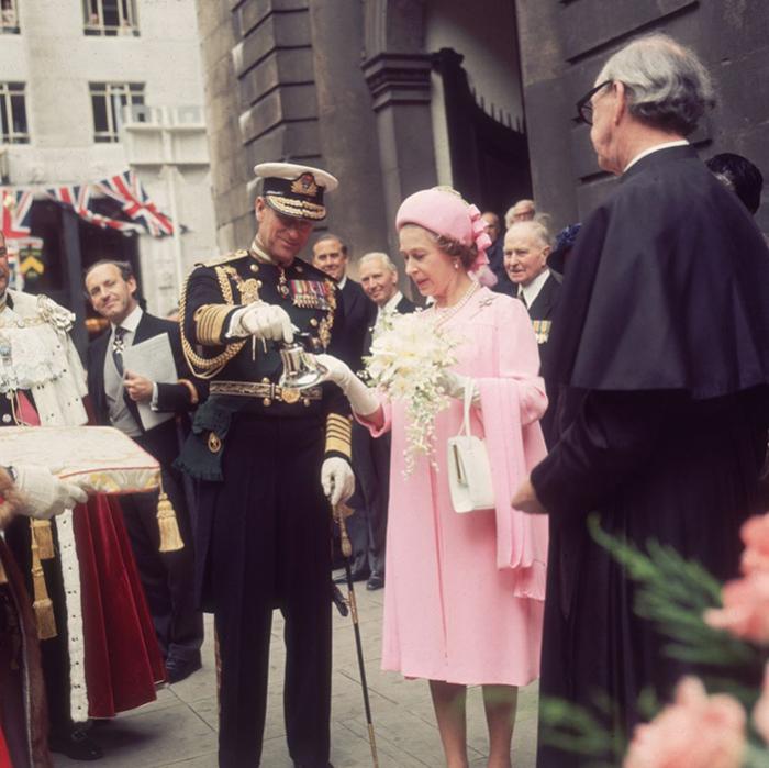 Серебряный юбилей королевы Елизаветы.