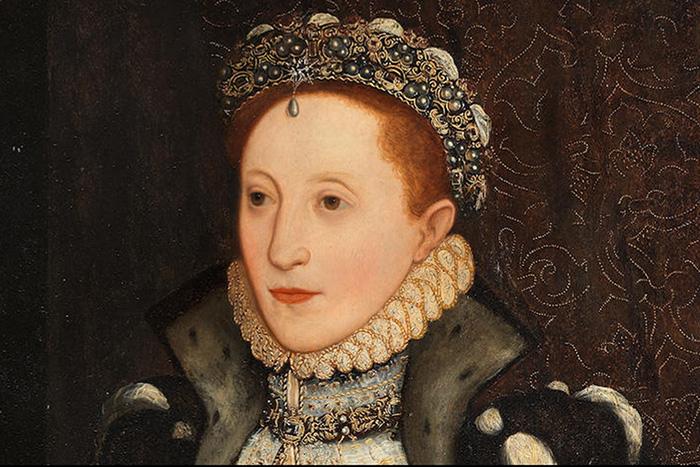 Ранний портрет единственной дочери Анны Болейн и Генриха VIII, которая стала королевой Елизаветой I.