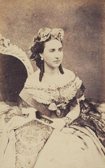 Фотография императрицы Карлоты.