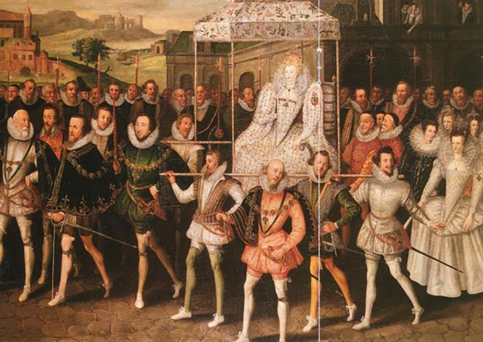 Время правления Елизаветы называют золотым веком Англии.