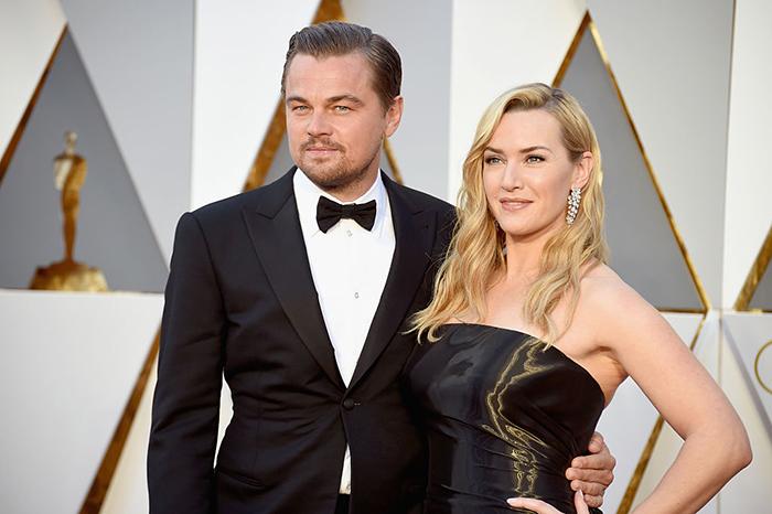 Леонардо Ди Каприо и Кейт Уинслет.