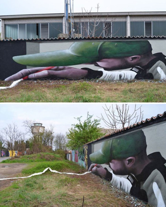 Власти некоторых городов даже отводят специальные места, где уличные художники могут творить.