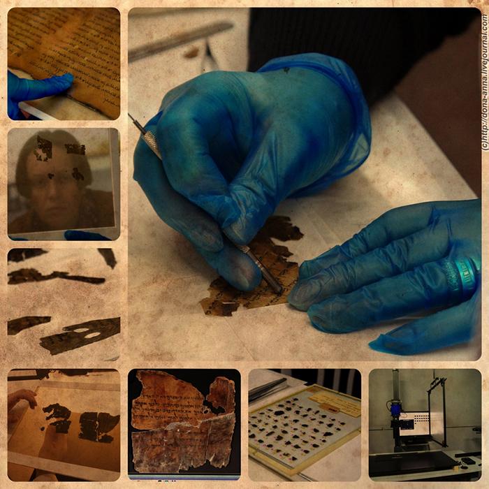 К огромному сожалению, все свитки Мёртвого моря, купленные Стивом Грином для Музея Библии, оказались подделкой.