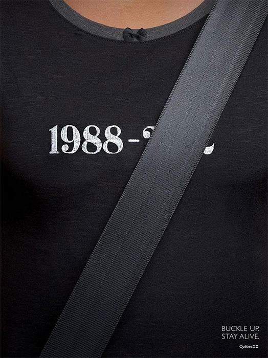 Социальная реклама ремней безопасности, Канада. Фото: reddit.com