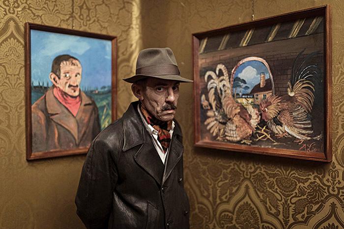 Многие годы провёл художник в психиатрической клинике.