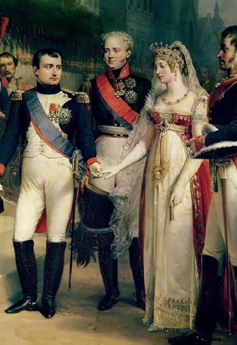 Наполеон выбрал Жозефину.