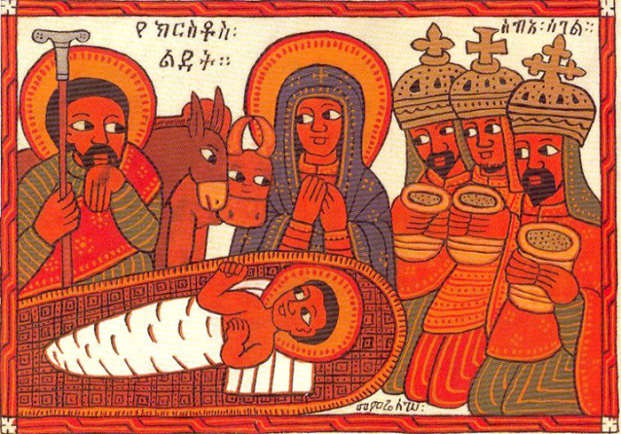 Христианская эфиопская живопись.