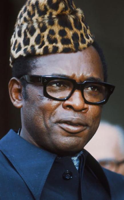 Мобуту Сесе Секо.