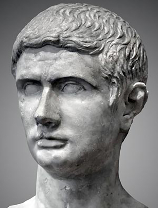 Юний Брут - убийца Цезаря.