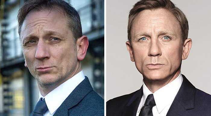 Агент 007 и его двойник.
