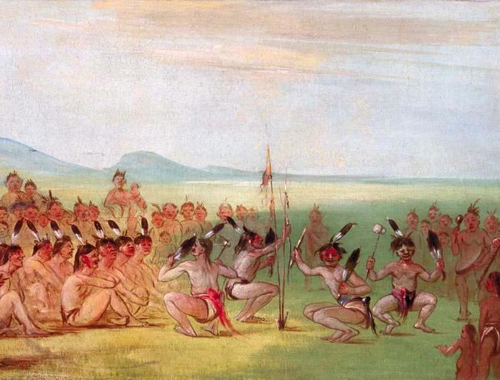 Индейцы племени чокто.