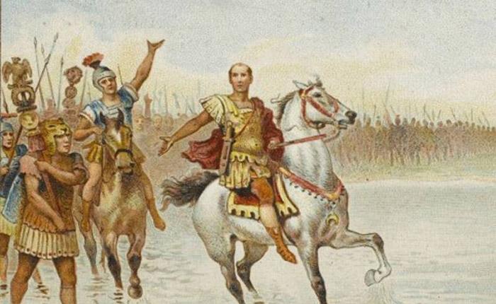 Цезарь был единым целым со своим войском.