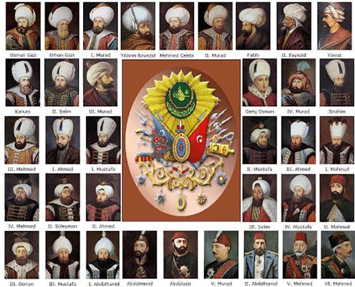 Султаны Османской империи.