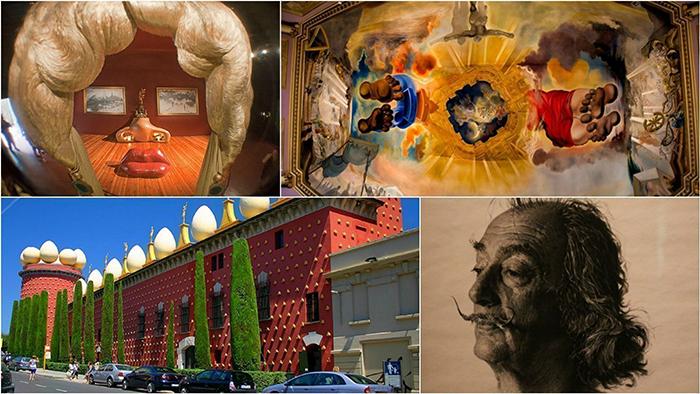 Театр-музей Дали, Фигерас.