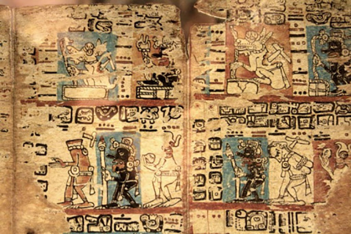 Письменность древних майя.