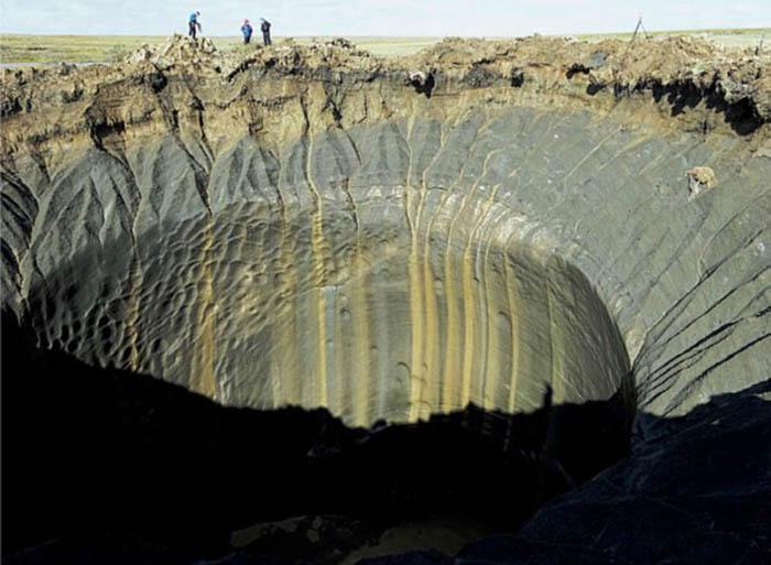 Самый новый кратер на Ямале появился в 2020 году.
