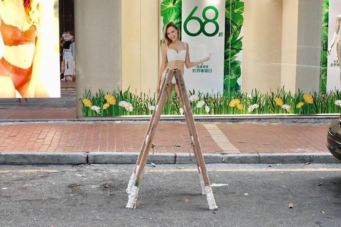 Она непременно выиграет прыжок в длину - в этом нет никаких сомнений. / Фото: instagram.com/edaswong