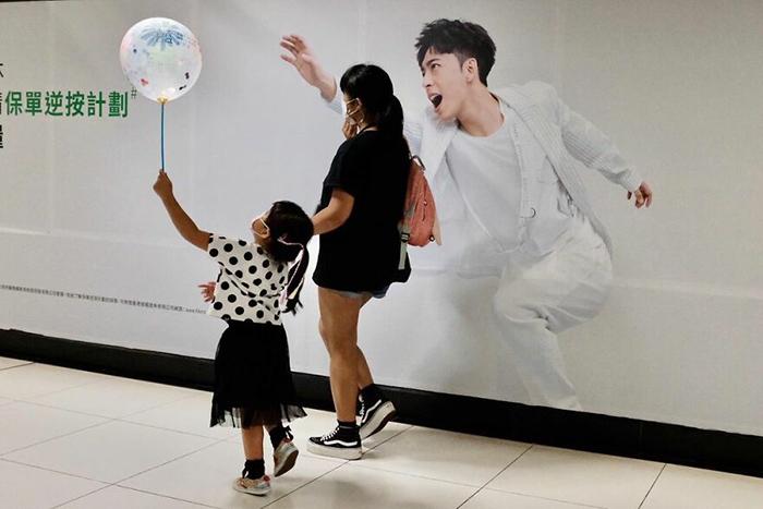 Мой шарик! / Фото: instagram.com/edaswong