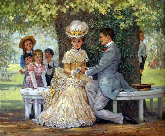 Девушки не вступали в брак подростками. / Фото: pinterest.fr