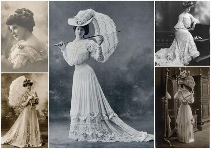 Редкие фотографии дам викторианской эпохи. / Фото: pailish.livejournal.com