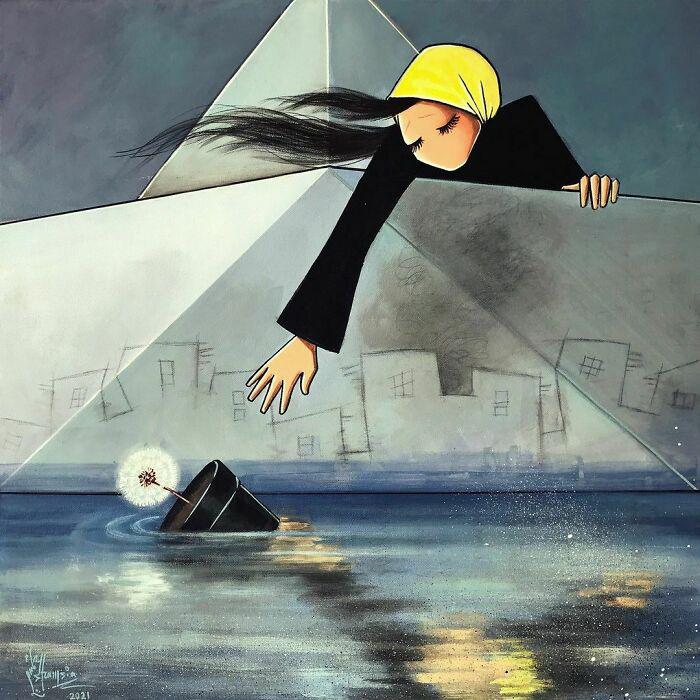 Все желания, надежды и мечты неумолимо ускользают... / Фото: shamsiahassani.net