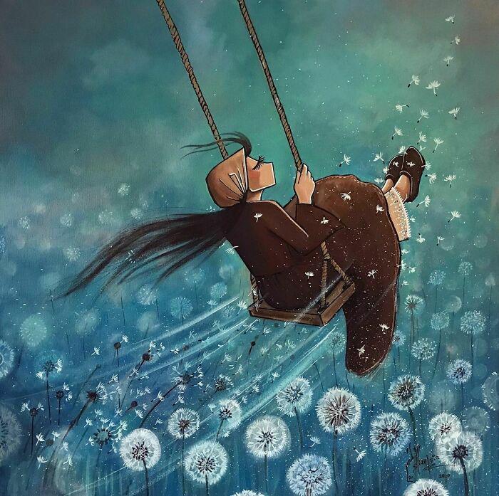 Мечта и глоток свежих чувств. / Фото: shamsiahassani.net