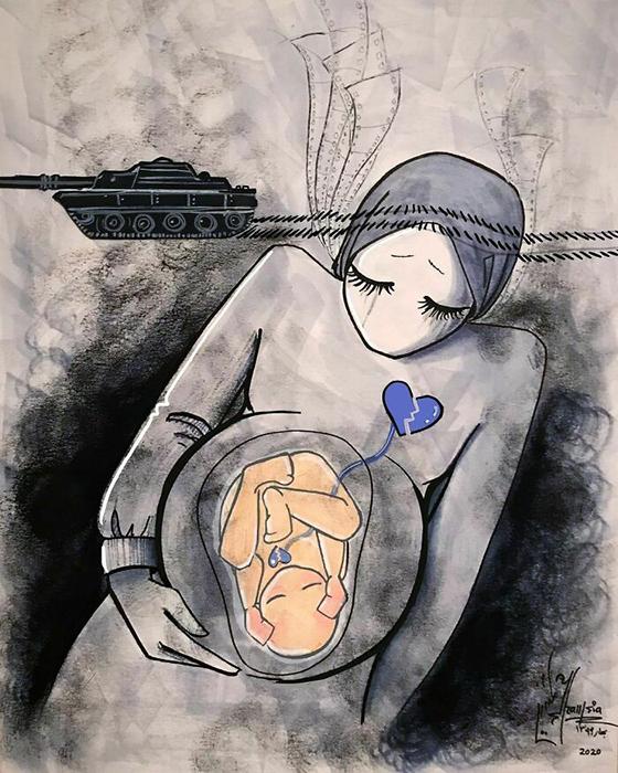 Оба сердца разбиты. / Фото: shamsiahassani.net