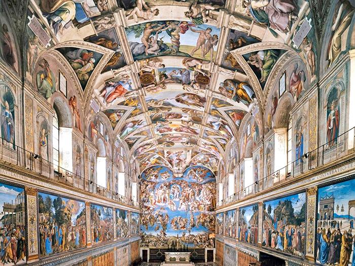 Сикстинская капелла, Ватикан.