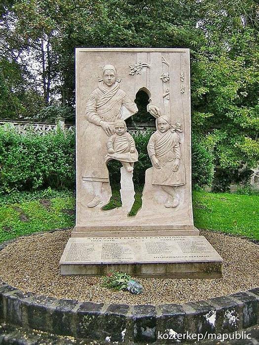 Мемориал Первой мировой войны в Вакратоте, Венгрия. Фото: reddit.com