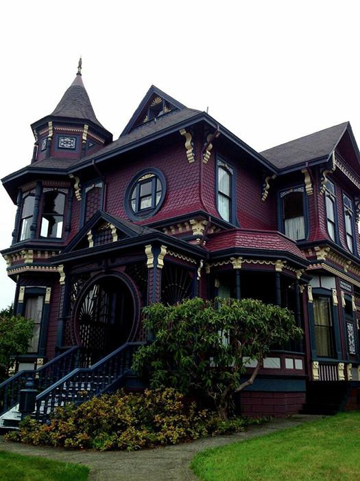 Готический викторианский дом, построенный в 1888 году в Аркате, Калифорния. Фото: reddit.com