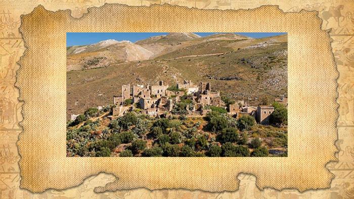 Руины древней Спарты.
