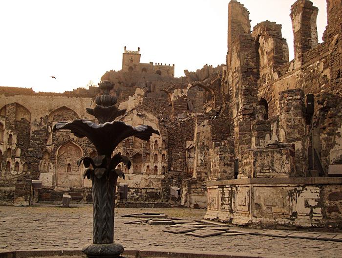 Руины легендарной Голконды  сегодня. / Фото: pnb.m.wikipedia.org