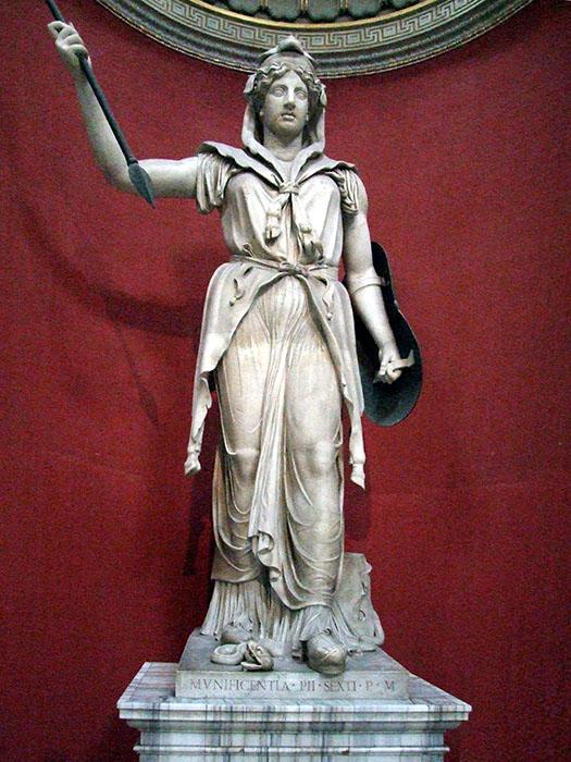 Статуя богини Юноны. / Фото: commons.wikimedia.org