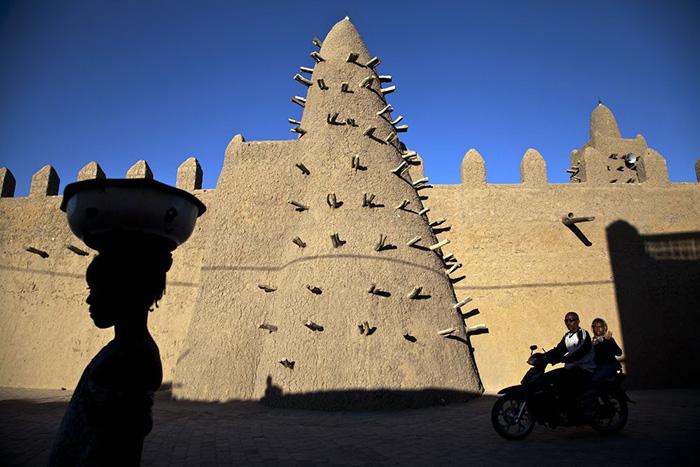 Мечеть Джингеребер, Тимбукту. / Фото: United Nations Photo / Flickr