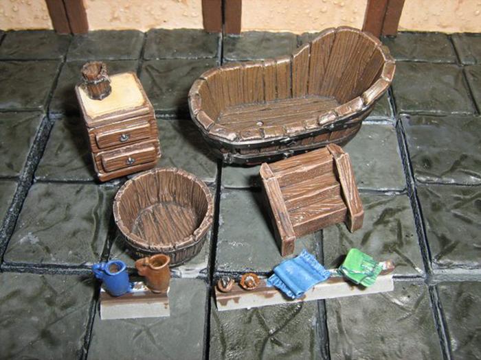 Средневековые банные принадлежности. / Фото: reddit.com