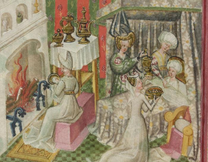 Дезинсекцию обычно проводили женщины. / Фото: research.reading.ac.uk