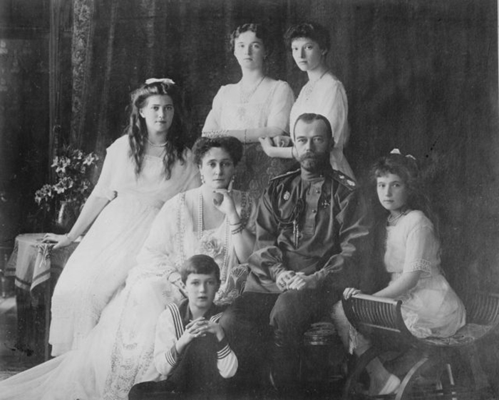 Последняя царская семья Романовых. / Фото: pinterest.com