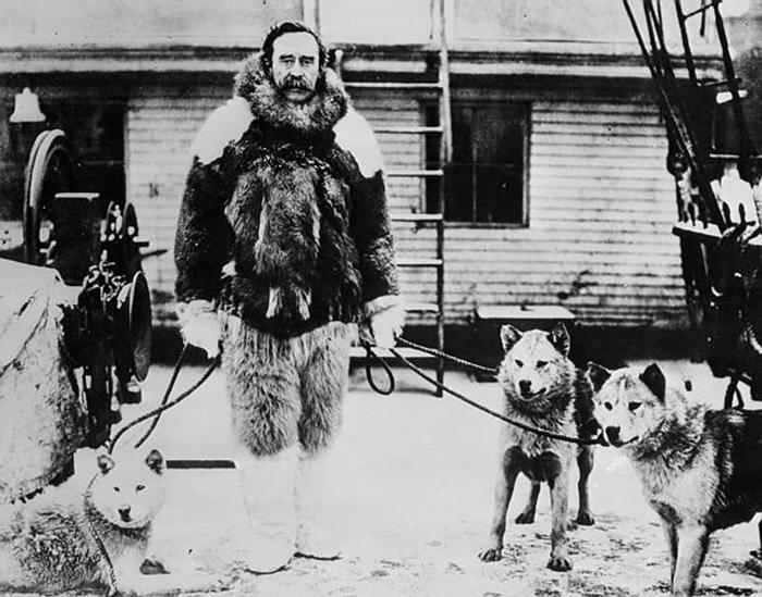 Американский полярный исследоваетль Роберт Пири. / Фото: geographyofrussia.com