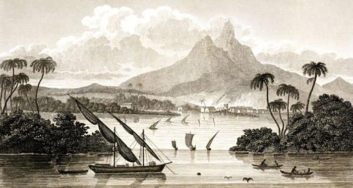 Пейзажи выдуманной страны завораживали доверчивых шотландцев.../ Фото: из книги Томаса Стрейнджуэйза, Wikimedia Commons