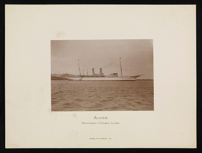 Роскошный лайнер был прорывом в истории морских путешествий. / Фото: pinterest.co.uk