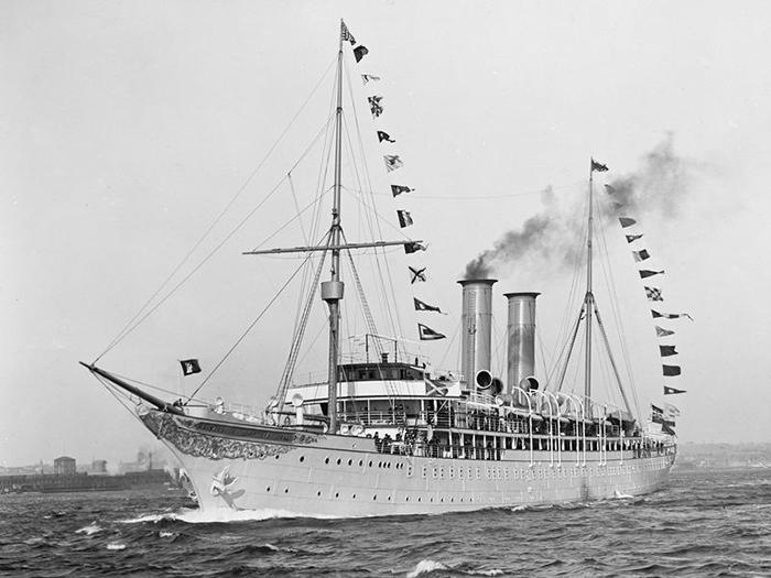 Prinzessin Victoria Luise - первый круизный корабль в истории. / Фото: Wikimedia Commons