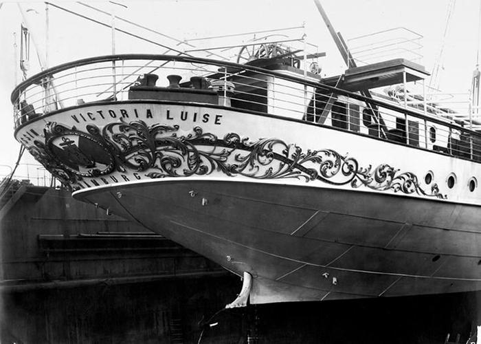 На роскошном лайнере было всё и даже больше. / Фото: mvf.su