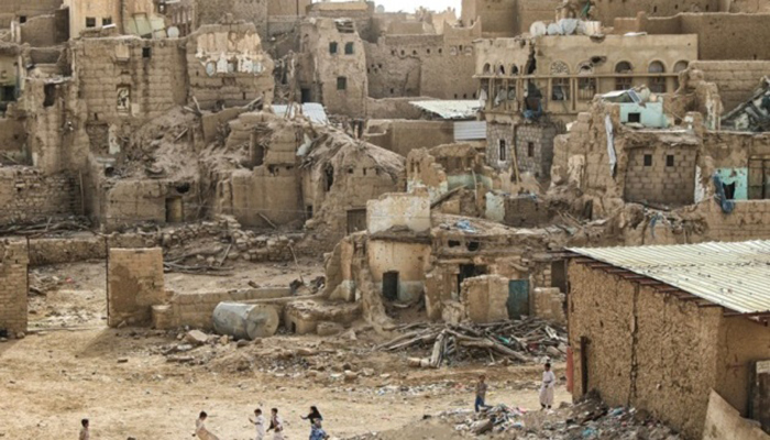 Сана в руинах. / Фото: soaldar.com