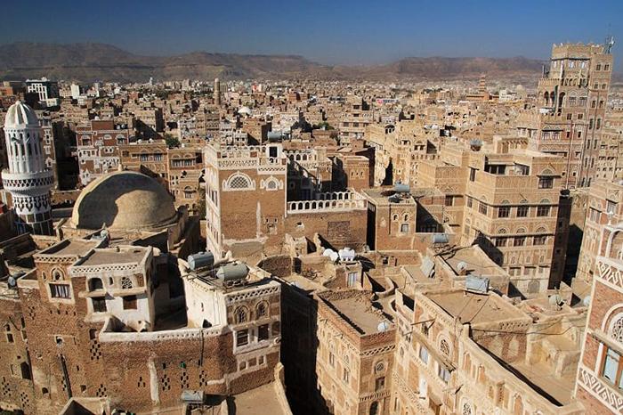 Вид на Сану, Йемен. / Фото: ststworld.com