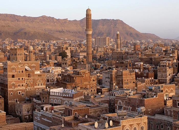Прекрасные мечети Саны. / Фото: Wikimedia Commons